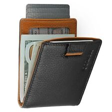 Mens Bifold Minimalist RFID Wallet -Thin Travel Wallets For Men Fathers Day Gift