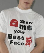 dubstep music t shirt show me your bass face t shirt
