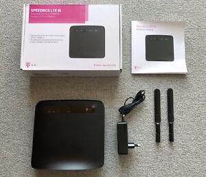 Telekom Speedbox LTE III - LTE Router Huawei E5186 WLAN LTE300 Geschwindigkeit