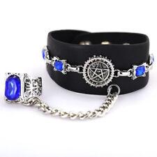 Anime Black Butler Kuroshitsuji Sapphire Ring Bracelet Cosplay Unisex Bracelet