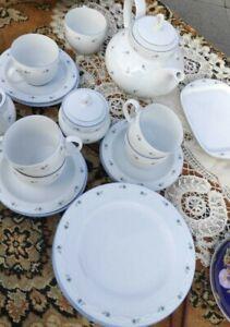 Seltmann Weiden Teeservice  Ascona Beatrice  5 Teetassen