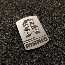 Super Mario 8-bit NES Nintendo Logo Label Decal Case Sticker Badge [452]