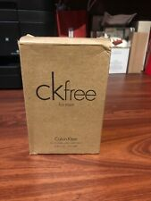 CK Free for Men fragrance new with box 100 ml Tester