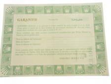 Rolex certificate serial number 5.751.431 genuine garanzia certificato originale