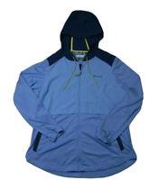 Columbia Lightweight Running Jacket Womens Size XL Blue Long Sleeve Active wear