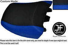 R BLUE BLACK VINYL CUSTOM FITS BMW R 1150RT 00-06 R 1100RT 94-01 REAR SEAT COVER