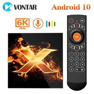 2020 VONTAR X1 Smart tv box android 10 4g 64gb 4K 1080p 2.4G&5G Wifi BT5.0