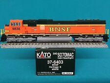 37-6403 Kato HO Scale SD70 MAC Burlington Northern Santa Fe BNSF NIB