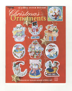 Counted Cross Stitch Booklet ~ Christmas Ornaments 78 Designs #3428