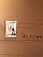 PRINT DRAN POSTCARD 15X10 LIMITED EDITION PARIS POP UP KAWS BANKSY