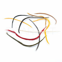 GOOSE BIOT COMBO PACK - Hareline Stripped Fly Tying Feathers - 9 Colors NEW!
