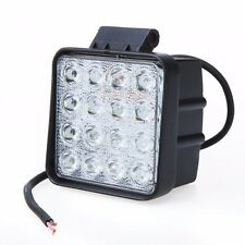 48W Flood LED Off road Work Light Lamp 12V 24V Cars boat Truck Driving UTE