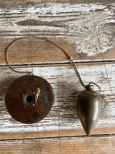 Vintage Brass Plumb bob.