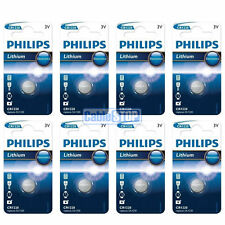 8 x Philips CR1220 3V Lithium Button Battery Coin Cell DL1220 - EXPIRY 2020
