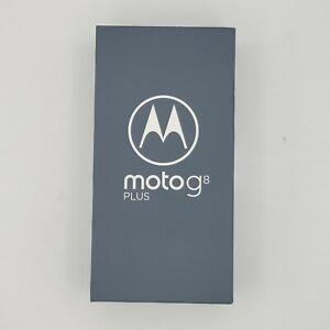 "Moto G8+ Plus (64GB, 4GB) 6.3"" Dual SIM 4G LTE GSM Unlocked XT2019-2 OPEN BOX"