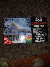 Christmas 750 Indoor Outdoor Icicle Christmas Lights Set Clear Bulb White Wire