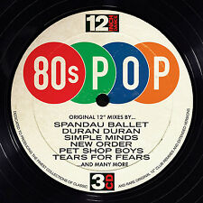 12 Inch Dance 80s Pop Various Artists CD Album