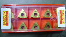 R166.0G-16 VM01-001 1020*60EXT R1.0-2.0 Carbide Inserts - PACK OF 10