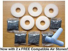 5 x Kit de Servicio De Filtro De Repuesto Compatible Biorb Biube Biorb vida