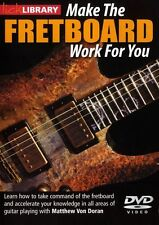 LICK LIBRARY MAKE THE FRETBOARD WORK FOR YOU Learn to Play Lesson GUITAR DVD