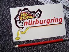 1 X Pegatina de estilo alemán Nurburgring sin miedo Nordschleife F1 Moto GP Superbikes