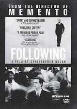 Following      (DVD)      LIKE NEW