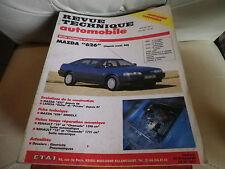 RTA 528 de 1991: MAZDA 626 depuis 88 Evolution MAZDA 323 et LANCIA DELTA