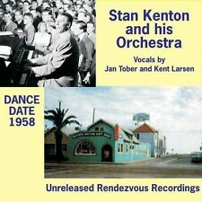 STAN KENTON & HIS ORCHESTRA - DANCE DATE 1958 NEW CD