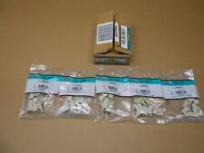50 NIB PANDUIT CMBEI-X CMBEIX MINI-COM BLANK MODULE (BOX OF 50)