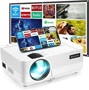 2021 VANKYO Leisure 470 Mini WiFi Projector w/100inch Projection Screen HD 1080P
