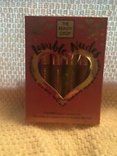 The Beauty Crop Liquid Lipstick Set -Lovable Nudes-New in Sealed Package