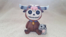 Furrybones Figurine Torro the Bull Skull in Costume Collect New Free Shipping!