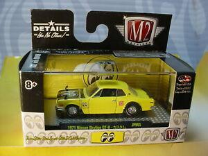 M2 Machines 1971 NISSAN SKYLINE GT-R ∞ yellow;∞MOONEYES JAPAN∞JPN03 18-80 👀