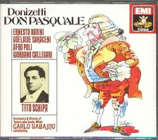 DONIZETTI - Don Pasquale - Carlo SABAJNO / Tito SCHIPA - EMI 2CDs