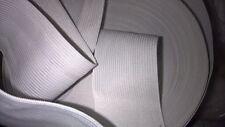 2 m d' d'elastique col blanc 4 cm ou 40 mm