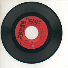 DEE JAY 45 RPM Record SHE'S A BIG GIRL NOW / HE'S NOT YOUR FRIEND Garage Rock M-