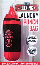 Boxing Punch Bag Laundry Clothes Novelty Over Door Washing Hamper Bin Basket NEW
