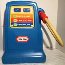 "Vintage 1980'S LITTLE TIKES Child/ Toy Gas Pump For Cozy Coupe Car 17"" w/ Bell"