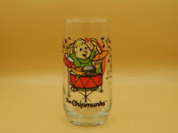 """Vintage, 1985 Alvin and the Chipmunks """"Theodore"""" Drink Glass"""