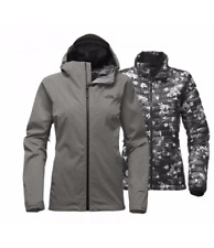 North Face Women's Thermoball Triclimate  3 in 1 Jacket M in Medium Grey Heather