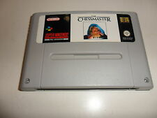 Super Nintendo SNES  The Chessmaster