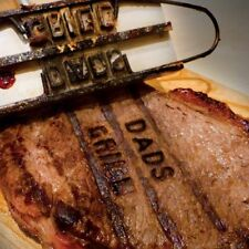 BBQ Branding Iron Grill Personalise Barbecue Tool 55 Letters For Burgers Steak
