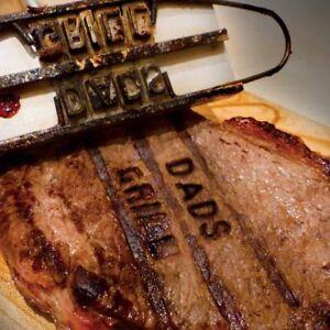 Letters DIY Steak Signature BBQ Name Marking Stamp Meat Branding Iron UK SELLER