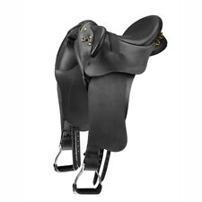 Bates Kimberley Western Fender Heritage Comfort Stock Saddle Black/Brown S/M/L