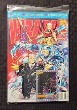 1992 WIZARD Comics Magazine #12 SEALED w/ Promo Card - Jim Lee Wildcats Cover