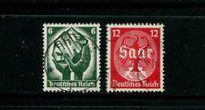 Deutsches Reich DR Mi.Nr. 544-545 Saar gestempelt #