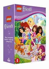 LEGO FRIENDS COLLECTION (4 disc set)  -  DVD - PAL Region 2 - New