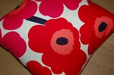 "Marimekko Finland Unikko cushion cover pillow cover, hand made, 18"", 45 cm  red"