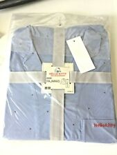 UNIQLO Hello Kitty 45th Anniversary Women Pajama Set (Long Sleeves) Light Blue M
