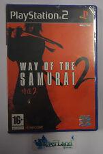 Game Gioco SONY Playstation 2 PS2 PAL ITALIANO Capcom WAY OF THE SAMURAI 2 NUOVO
